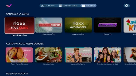 Rlaxx TV Android Tv