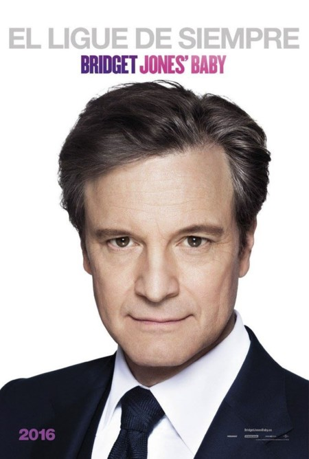 Bridget Jones Baby Carteles Colin Firth