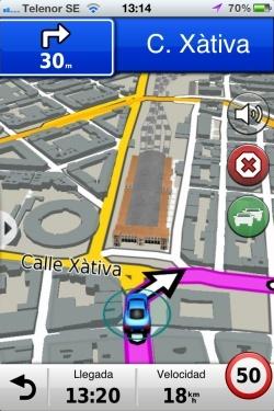 Garmin StreetPilot da un caro salto al mundo iOS