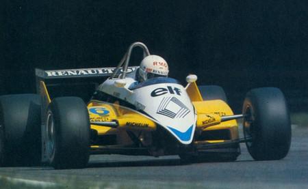 Rene Arnoux Monza 1982