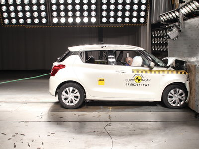 En video: Nissan Micra, Suzuki Swift, MINI Countryman y Škoda Kodiaq, a prueba por Euro NCAP