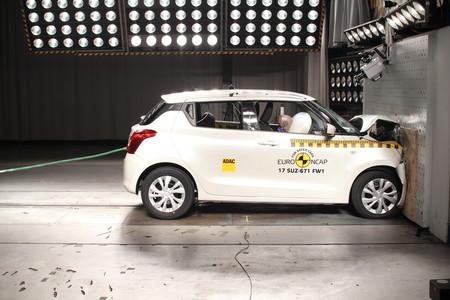 En video: Nissan Micra, Suzuki Swift, MINI Countryman y Škoda Kodiaq, a prueba por Euro NCAP
