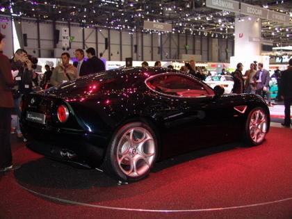 Alfa Romeo 8C Competizione Ginebra