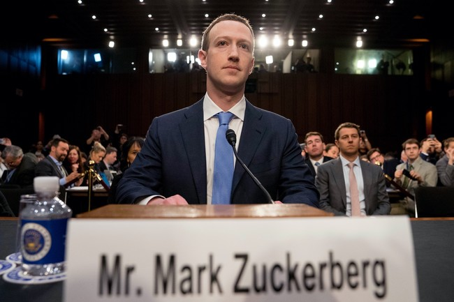 Zuckerberg Senado