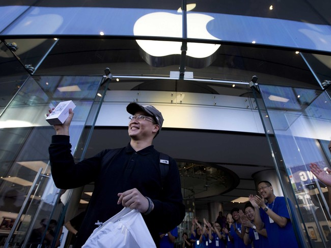 Apple Is Opening Stores In China(pais) At Breakneck Speed
