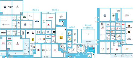 Mapa del salon de ginebra