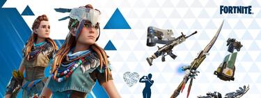 Fortnite: cómo conseguir gratis la skin de Aloy de Horizon Zero Dawn