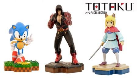 La colección de figuras Totaku se expande con Sonic, Jin Kazama e incluso Gold Hoarder de Sea of Thieves