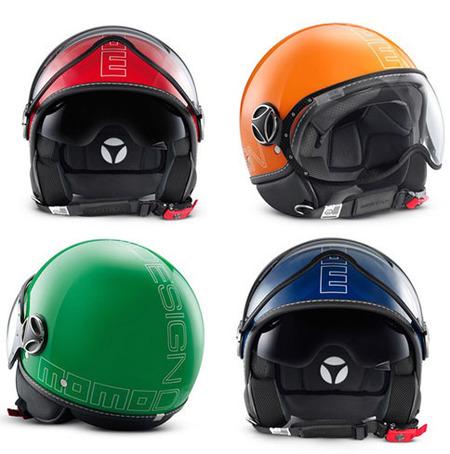 4 cascos Momodesign arcoiris