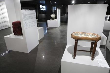 El bidé de Sissí y otras piezas curiosas en el Roca Madrid Gallery