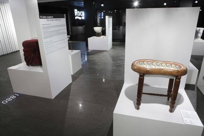 El bidé de Sissi en el Roca Madrid Gallery
