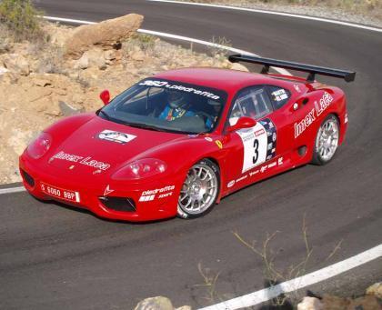 Solá podría participar en el nacional con un Ferrari
