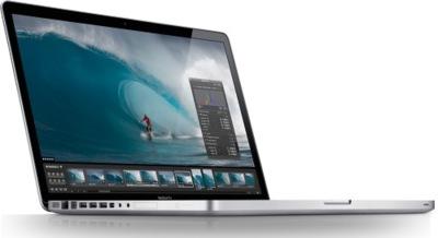 El MacBook Pro de 17 pulgadas se retrasa
