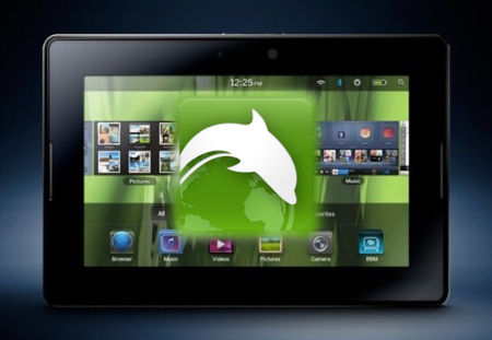 Dolphin Browser HD llega de forma oficial a la BlackBerry Playbook