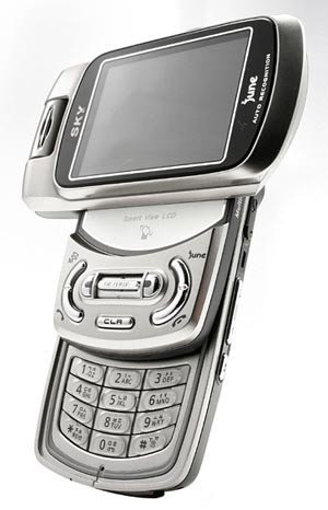 IM-R100, teléfono Pantech con funciones de PMP