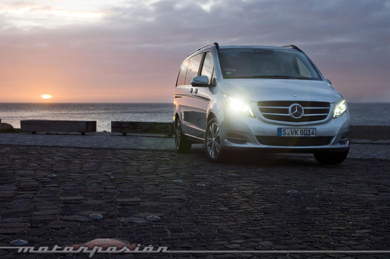 Foto de Mercedes-Benz Clase V (toma de contacto) (1/44)