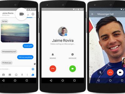 Las videollamadas de Facebook Messenger para Android llegan a España