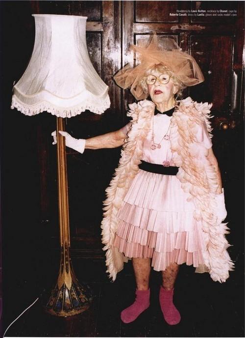Foto de Dazed & Confused enero 2008 - abuelas fashion (3/10)