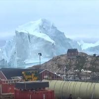 Hay un iceberg a la deriva tan gigantesco que podría sepultar a un pueblo entero con un tsunami