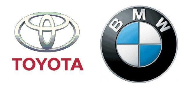Logos de Toyota y BMW
