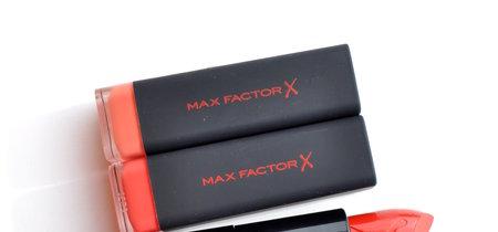 Max Factor se une a la tendencia con sus nuevos 'Velvet Matte Lipstick': los probamos