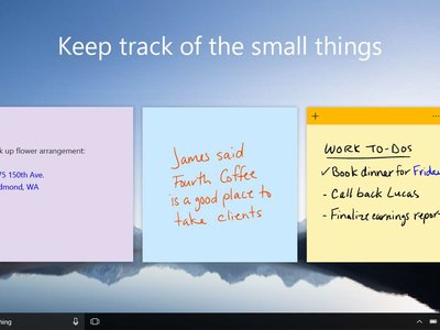 Sticky Notes se actualiza en Skip Ahead con un renovado modo oscuro y una útil barra de formato integrada