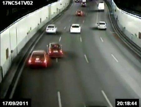 Una disputa de tráfico en la M-30 acaba con una agresión, robo, tres heridos y cinco detenidos