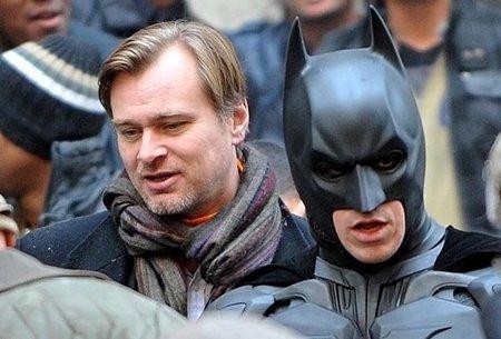 Christopher Nolan en el rodaje de