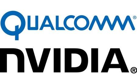 Qualcomm NVidia logos