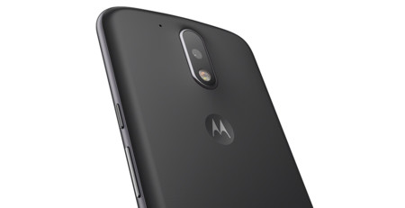 Motog4 Black Back Detail