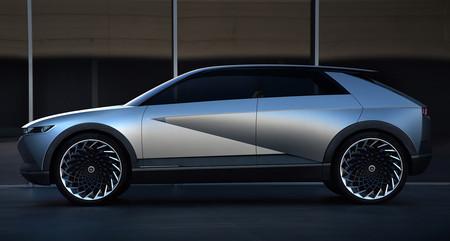El Hyundai 45 EV Concept, inspirado en el Pony, anticipa el diseño de los futuros coches eléctricos de Hyundai