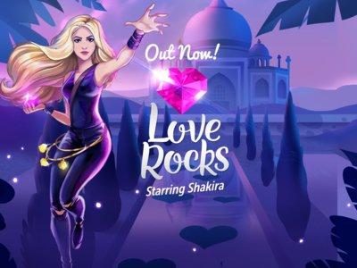 Rovio lanza Love Rocks, el juego de puzles protagonizado por Shakira