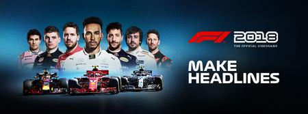 F1 2018 se acerca cada vez más, se estrenará el 24 de agosto, te mostramos su adelanto