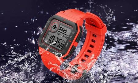 Amazfit Neo en oferta: el reloj deportivo inteligente con estética Casio ahora en Amazon por 23,90 euros