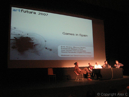 ArtFutura 2007: Games in Spain