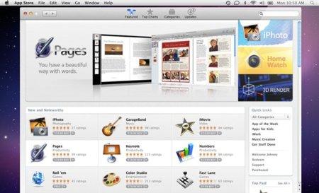 Más detalles de la Mac App Store: Sin Game Center ni compras dentro de las aplicaciones