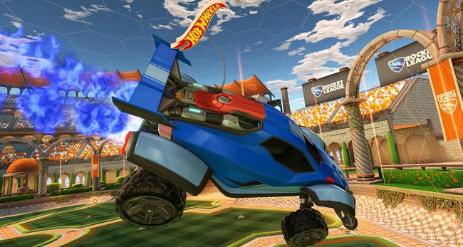 Rocket League se hace real: Psyonix anuncia un set de Battle-Cars controlados por móvil con estadio y balón incluidos
