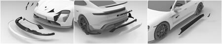 Porsche Taycan Techart