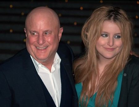 Ron Perelman And Samantha Perelman Shankbone 2009 Vanity Fair