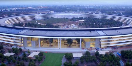 Ya no quedan casi obras en el Apple Park, y este vídeo en 360 grados te permite explorarlo por ti mismo