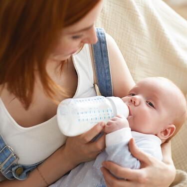 ¿Los bebés que toman leche de fórmula duermen más?