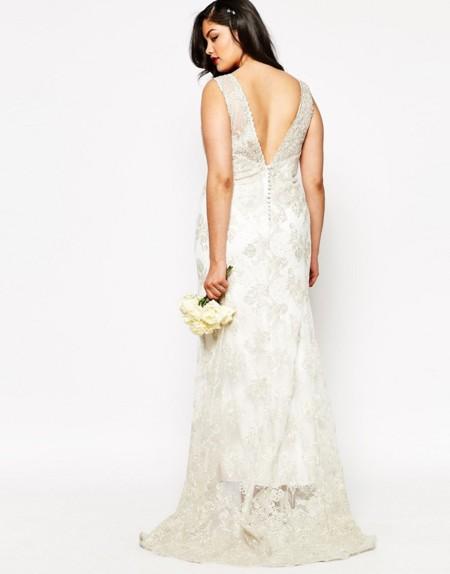 38a146733 Los 11 vestidos de novia que desearás lucir si eres una mujer curvy y te  casas en 2016