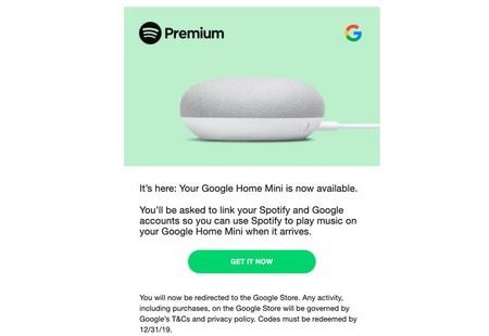Home Mini Spotify
