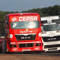 Plan para el fin de semana: Ir a las carreras, pero carreras de camiones y en el Jarama