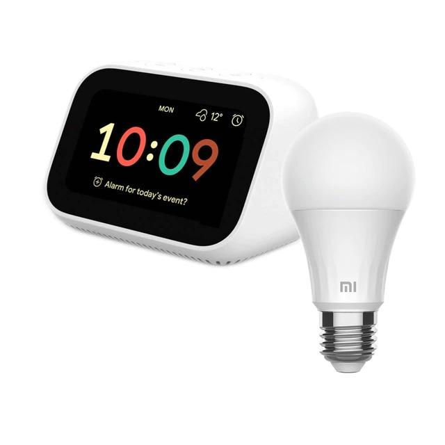 Bundle Xiaomi Mi Smart Clock + Bombilla inteligente Xiaomi LED Smart Bulb