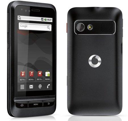 Vodafone 945, la operadora renueva en octubre su terminal Android