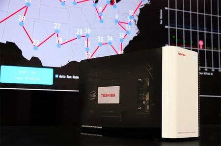 Toshiba mete un ordenador de inspiración cuántica en un PC de escritorio