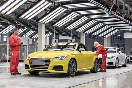 El Audi TT Roadster ya se fabrica en Hungría