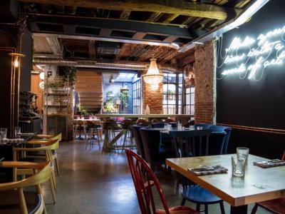 Arriesgada y divertida, así es la propuesta del restaurante Clandestino en León