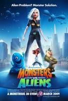 'Monsters vs Aliens' y la apuesta de Dreamworks por las 3D